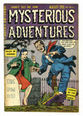 Golden Age (1938-1955):Horror, Mysterious Adventures #3 (Story Comics, 1951) Condition: FN. Coverby Goldfarb Baer. Overstreet 2005 FN 6.0 value = $105....
