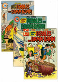 Bronze Age (1970-1979):Cartoon Character, Pebbles & Bamm Bamm Group (Charlton, 1972-76). Group includes#3 (FN/VF), 21 (FN/VF), 29 (NM-), 31 (FN/VF), 32 (NM-), 33 (NM...(Total: 9 Comic Books)