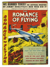 The Romance of Flying #nn (David McKay Publications, 1942) Condition: VF-. World War II photos. Overstreet 2005 VF 8.0 v...