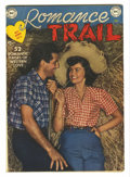 Golden Age (1938-1955):Romance, Romance Trail #6 (DC, 1950) Condition: VG+. Photo cover. Whitepages. Overstreet 2005 VG 4.0 value = $48....
