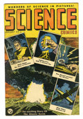 Golden Age (1938-1955):Science Fiction, Science Comics #1 (Humor Publications, 1946) Condition: FN-. AtomBomb cover and art by Rudy Palais. Overstreet 2005 FN 6.0 ...
