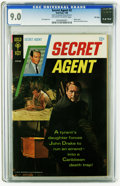 Silver Age (1956-1969):Adventure, Secret Agent #2 File Copy (Gold Key, 1968) CGC VF/NM 9.0 Off-white to white pages. Sal Trapani art. Photo cover. Overstreet ...
