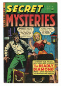 Golden Age (1938-1955):Horror, Secret Mysteries #17 (Ribage Publishing, 1955) Condition: FN-.Byron Fass cover. Overstreet 2005 FN 6.0 value = $57....