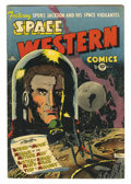 Golden Age (1938-1955):Science Fiction, Space Western #43 (Charlton, 1953) Condition: VG/FN. Stan Campbellcover and art. Overstreet 2005 VG 4.0 value = $86; FN 6.0...