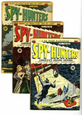 Golden Age (1938-1955):Crime, Spy-Hunters #4-14 Group (ACG, 1950-51) Condition: Average VG. This group contains issues #4, 5, 6, 7, 8, 9, 10, 11, 12, 13, ... (Total: 11 Comic Books)