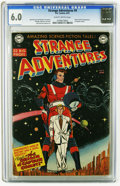 Golden Age (1938-1955):Science Fiction, Strange Adventures #9 (DC, 1951) CGC FN 6.0 Slightly brittle pages.Origin and first appearance of Captain Comet. Carmine In...