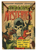 Golden Age (1938-1955):Horror, Strange Mysteries #7 (Superior, 1952) Condition: VG+. Overstreet2005 VG 4.0 value = $60....