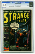 Golden Age (1938-1955):Horror, Strange Tales #6 Bethlehem pedigree (Marvel, 1952) CGC FN 6.0 Creamto off-white pages. Russ Heath cover. Heath, Pete Morisi...