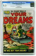Golden Age (1938-1955):Science Fiction, Strange World of Your Dreams #1 (Prize, 1952) CGC VF+ 8.5 Off-whiteto white pages. Joe Simon and Jack Kirby art. Overstreet...