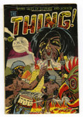 Golden Age (1938-1955):Horror, The Thing! #6 (Charlton, 1953) Condition: GD+. Overstreet 2005 GD2.0 value = $51....