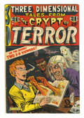 Golden Age (1938-1955):Horror, Three Dimensional Tales from the Crypt of Terror #2 (EC, 1954)Condition: GD/VG. A selection of EC horror stories that were ...