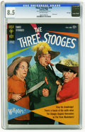 Silver Age (1956-1969):Humor, Three Stooges #19 File Copy (Gold Key, 1964) CGC VF+ 8.5 Off-white pages. Photo cover. Overstreet 2005 VF 8.0 value = $70; V...