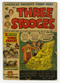 Golden Age (1938-1955):Humor, Three Stooges #1 (St. John, 1953) Condition: GD-. Joe Kubert and Norman Maurer appear on the first page. Maurer cover. Kuber...
