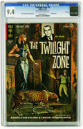 Silver Age (1956-1969):Horror, Twilight Zone #3 File Copy (Gold Key, 1963) CGC NM 9.4 Off-white towhite pages. Alex Toth and Mike Sekowsky art. Painted co...