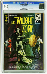 Twilight Zone #7 File Copy (Gold Key, 1964) CGC NM 9.4 Off-white to white pages. Frank Thorne and Fred Fredericks art. P...