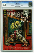 Silver Age (1956-1969):Science Fiction, Twilight Zone #9 File Copy (Gold Key, 1964) CGC NM 9.4 Off-white towhite pages. Fred Fredericks art. Painted cover. Overstr...