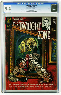Twilight Zone #9 File Copy (Gold Key, 1964) CGC NM 9.4 Off-white to white pages. Fred Fredericks art. Painted cover. Ove...