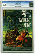 Silver Age (1956-1969):Science Fiction, Twilight Zone #16 File Copy (Gold Key, 1966) CGC NM 9.4 Off-white to white pages. Joe Orlando and Frank Bolle art. Painted c...