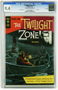 Silver Age (1956-1969):Science Fiction, Twilight Zone #21 File Copy (Gold Key, 1967) CGC NM 9.4 Off-white to white pages. Andre LeBlanc art. Painted cover. Overstre...