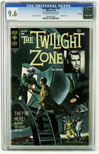 Twilight Zone #26 File Copy (Gold Key, 1968) CGC NM+ 9.6 Off-white to white pages. Andre LeBlanc art. Painted cover. Ove...