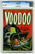 Golden Age (1938-1955):Horror, Voodoo #15 (Farrell, 1954) CGC FN 6.0 Off-white pages. Opium drugstory. This is currently the highest grade awarded by CGC ...