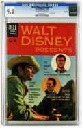 Silver Age (1956-1969):Adventure, Walt Disney Presents #5 File Copy (Dell, 1960) CGC NM- 9.2 Off-white to white pages. Warren Tufts art. Photo cover. Overstre...