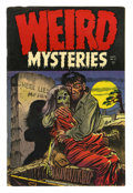 Golden Age (1938-1955):Horror, Weird Mysteries #12 (Gillmor, 1954) Condition: Apparent VG/FN.Reprints Mr. Mystery #8 (#2), Weird Mysteries #3, and...