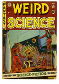 Golden Age (1938-1955):Science Fiction, Weird Science #8 (EC, 1951) Condition: GD+. Al Feldstein cover.Feldstein, Wally Wood, Jack Kamen, and George Roussos art. T...