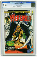 Bronze Age (1970-1979):Horror, Werewolf by Night #26 (Marvel, 1975) CGC NM 9.4 Off-white to whitepages. Hangman appearance. Gil Kane and Klaus Janson cove...