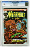 Bronze Age (1970-1979):Horror, Werewolf by Night #27 (Marvel, 1975) CGC NM+ 9.6 Off-white to whitepages. Gil Kane and Tom Palmer art. Don Perlin art. Over...