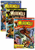 Bronze Age (1970-1979):Horror, Werewolf by Night Group (Marvel, 1974-75) Condition: Average VF/NM.This high-grade group includes: #23, 24, 25, 29, 30, and... (Total:6 Comic Books)
