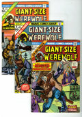 Bronze Age (1970-1979):Horror, Giant-Size Werewolf by Night #2, 3, and 4 Group (Marvel, 1974-75).Frankenstein and Morbius make separate appearances in thi...(Total: 3 Comic Books)
