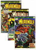 Bronze Age (1970-1979):Horror, Werewolf by Night #34-43 Group (Marvel, 1975-77) Condition: AverageVF/NM. This Werewolf by Night group features art by ... (Total: 10Comic Books)