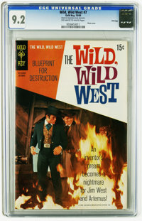 Wild, Wild West #7 File Copy (Gold Key, 1969) CGC NM- 9.2 Off-white to white pages. Photo cover. Overstreet 2005 NM- 9.2...