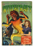 Golden Age (1938-1955):Horror, Witchcraft #1 (Avon, 1952) Condition: Apparent VG. Joe Kubert art.Amateur restoration work includes a piece added and some ...