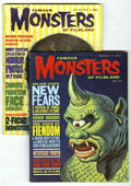 Silver Age (1956-1969):Horror, Famous Monsters of Filmland #27-30 and 46 Group (Warren, 1964-67)Condition: VG+. The first 32 issues of this series are con...(Total: 5 Comic Books)