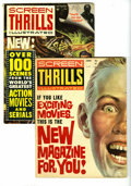 Magazines:Miscellaneous, Screen Thrills Illustrated Group (Warren, 1962-64) Condition:Average GD/VG. All but one issue of the series' run is include...(Total: 9 Comic Books)
