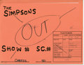 """Original Comic Art:Miscellaneous, The Simpsons - """"Bart Simpson and Milhouse Van Houten in Police Car"""" Preliminary Animation Drawings Original Art, Group of 9 (u... (Total: 9 Items)"""