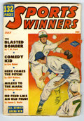 Original Illustration Art:Pulp, Pulp-like, Digests and Paperback Art, Sports Winners Pulp, V5#4 (Columbia, 1951) Condition: VG+.Off-white pages. Bookery's Guide to the Pulps VG value = $7....