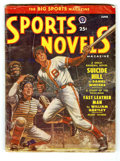 Original Illustration Art:Pulp, Pulp-like, Digests and Paperback Art, Sports Novels Magazine V20#4 (Popular, 1951) Condition: VG+.Off-white pages. Approximate Bookery Guide to Pulps value = $5....