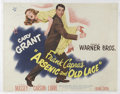 "Movie Posters:Comedy, Arsenic and Old Lace (Warner Brothers, 1944). Half Sheet (20"" X26""). Frank Capra directs Cary Grant, Peter Lorre, Priscilla..."