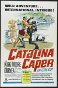 "Movie Posters:Mystery, Catalina Caper (Crown-International, 1967). One Sheet (27"" X 41"").Tommy Kirk, Peter Duryea and Del Moore star in this music..."