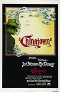 """Movie Posters:Film Noir, Chinatown (Paramount, 1974). One Sheet (27"""" X 41""""). Jack Nicholson is private investigator J.J. Gittes. While spying on Faye..."""