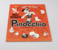 "Movie Posters:Animated, Disney Press Book Lot (Buena Vista, R-1974, 1984). Press books (2)(Multiple Pages). ""Pinocchio"" and ""Alice in Wonderland"" a...(Total: 2 Items)"