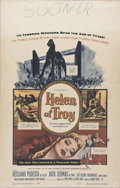 """Movie Posters:Adventure, Helen of Troy (Warner Brothers, 1956). Window Card (14"""" X 22"""").Epic costume drama that retells Homer's """"Iliad"""" from the sta..."""