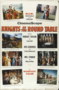 "Movie Posters:Adventure, Knights of the Round Table (MGM, 1953). One Sheet (28"" X 44""). Thefirst MGM film to be shot in CinemaScope was this retelli..."