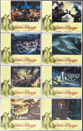 "Movie Posters:Animated, The Lord of the Rings (United Artists, 1978). Lobby Card Set of 8(11"" X 14""). ""One ring to rule them all; one ring to find ...(Total: 8 Items)"