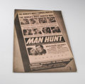 Movie Posters:Thriller, Man Hunt (20th Century Fox, 1941). Pressbook (Multiple Pages). Walter Pidgeon, Joan Bennett, Roddy McDowall, and John Carrad...