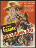 "Movie Posters:Western, The Oklahoma Kid (Warner Brothers, 1939). Herald (8.5"" X 11.5""). This movie stars James Cagney in his first Western as the n..."