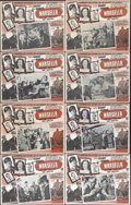 "Movie Posters:War, Passage to Marseille (Warner Brothers, 1944). Mexican Lobby CardSet of 8 (11"" X 14""). Humphrey Bogart, Claude Rains and Pet...(Total: 8 Items)"